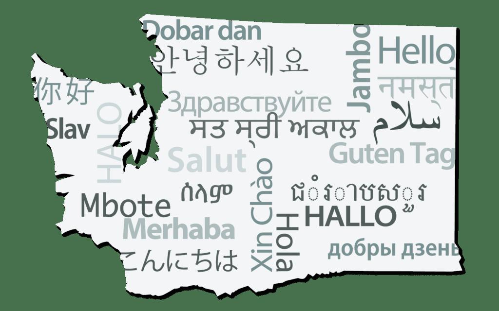 washington languages